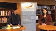 Anna-Lena Holmström och Erica Sundberg samtalar om vad TRR kan göra för företag i omställning