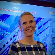 Lina Pennlert, näringslivsstrateg i Danderyds kommun