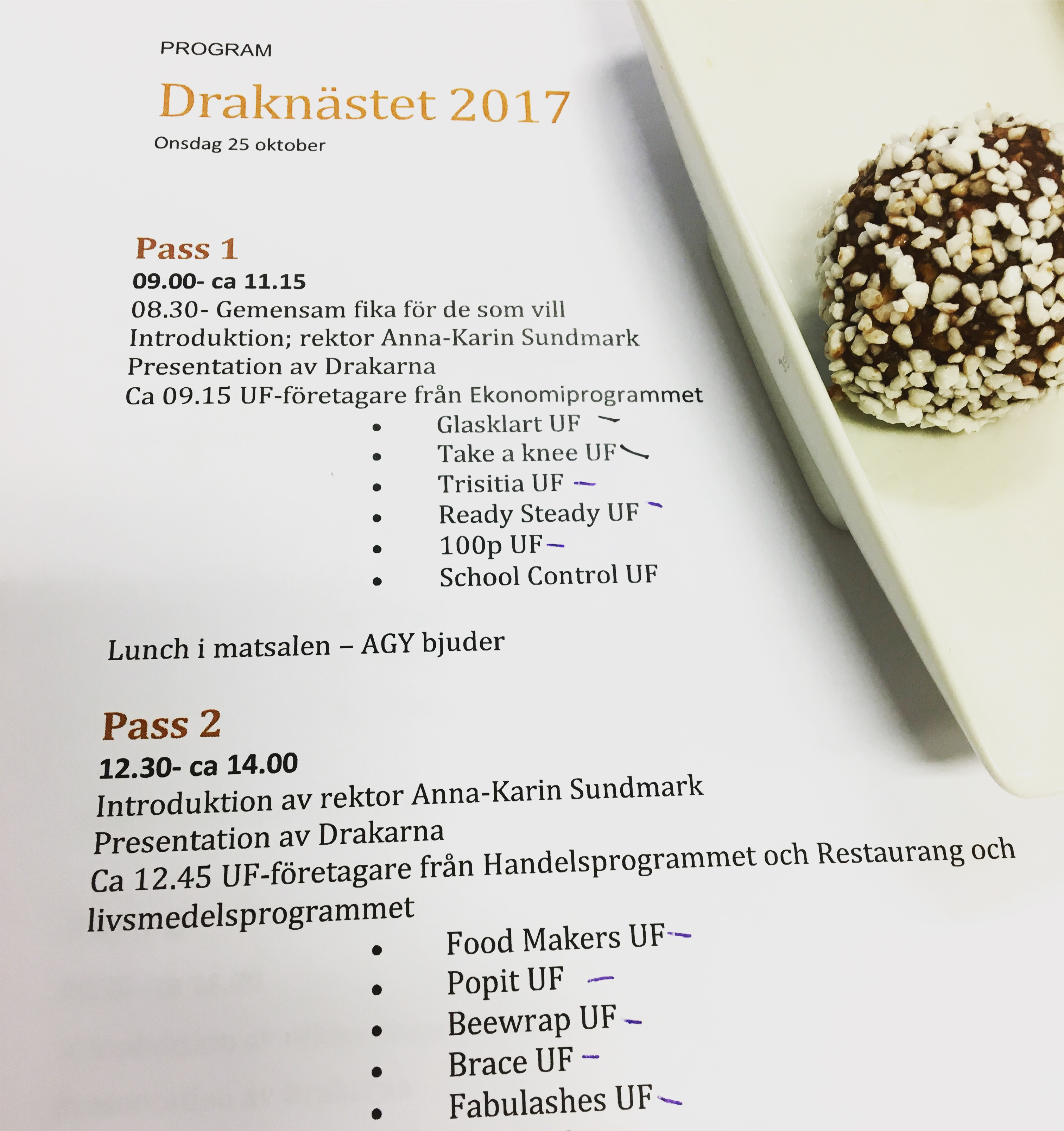 program Draknästet