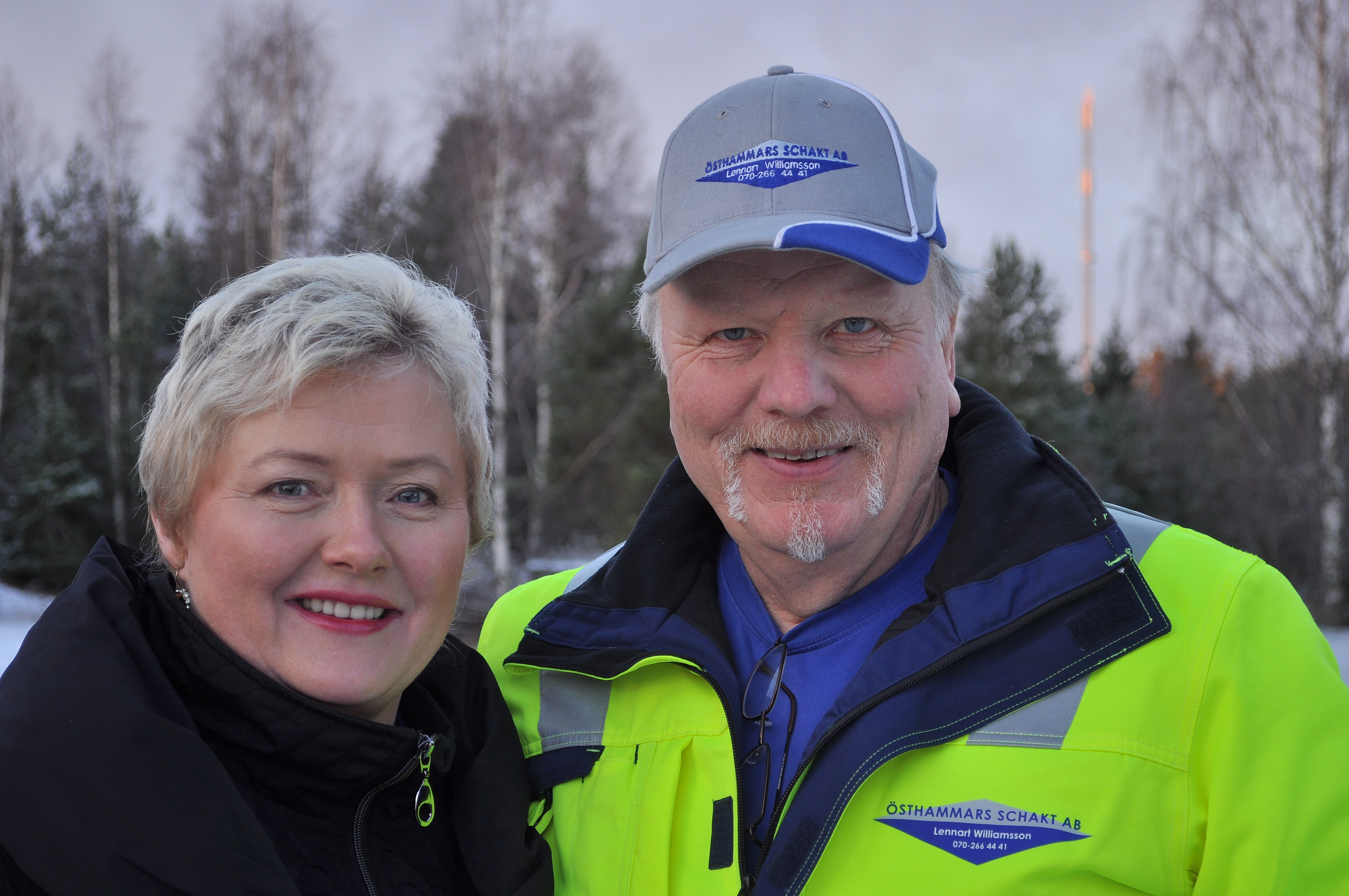 Christina Williamsson Liw och Lennart Williamsson
