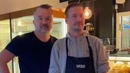Peter Bohlin och Thomas Pettersson i TP Bar & Kök