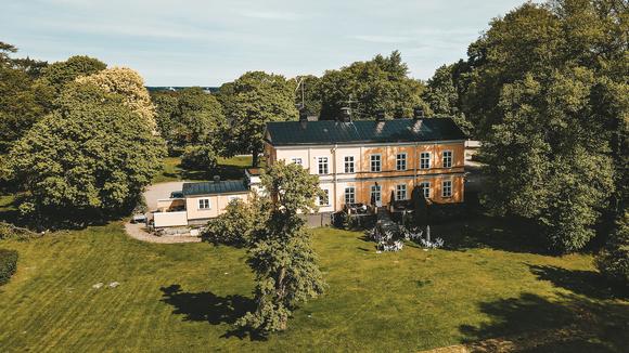 Överblicksbild på Thoresta Herrgård