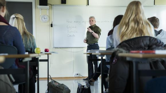 Gymnasielärare