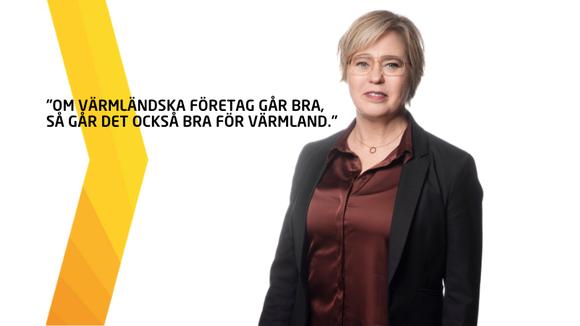 Anna Hedberg, regionchef Svenskt Näringsliv Värmland