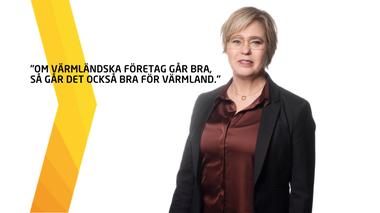 Om värmländska företag går bra, går det också bra för Värmland