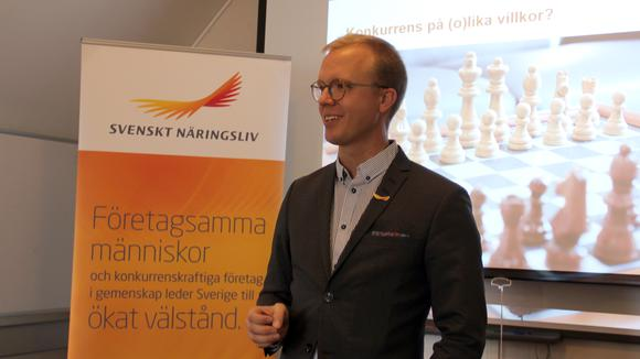 Stefan Sagebro - Osund konkurrens