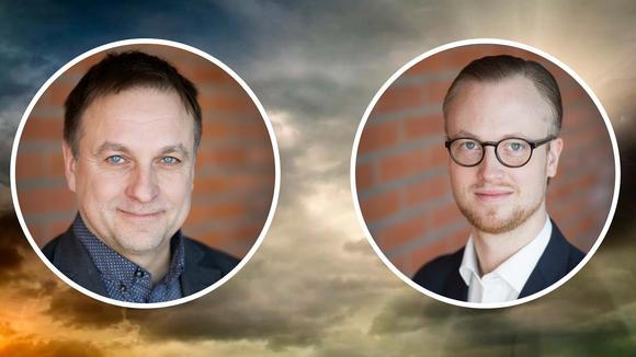 Lorents Burman och Andreas Löwenhöök