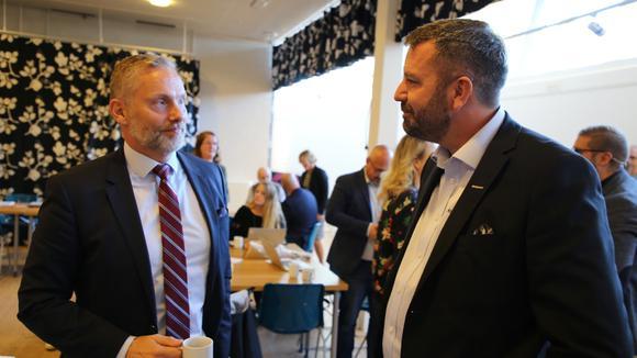 Stefan Dalin och Joakim Sjöstedt