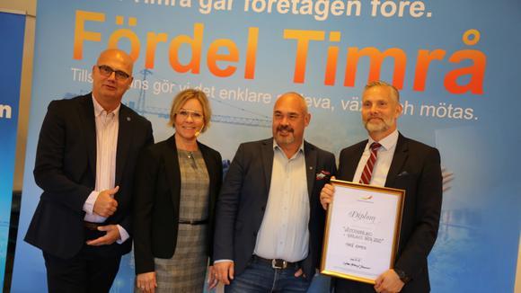 Tony Andersson, Anna Hedensjö Johansson, Stefan Dalin och Christian Söderberg