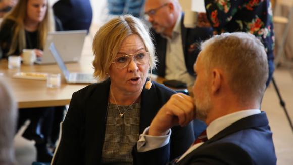 Anna Hedensjö Johansson och Stefan Dalin