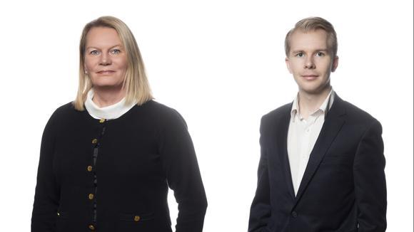 Kristin Lahed och Tony Gunnarsson
