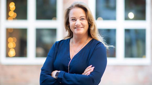 Jenny Larsson, vd för den svenska delen av Hitachi ABB