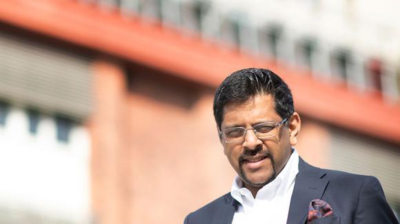 Ganesh Chandramouli, product manager och ansvarig för externa FoU-samarbeten på Bombardier.