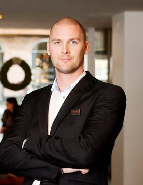 Kristian Sandahl, vd på Scandic Billingen i Skövde