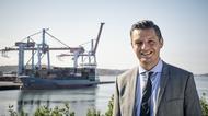 Elvir Dzanic, vd på Göteborgs Hamn